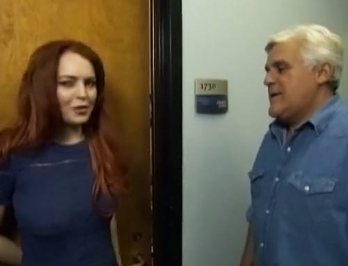 Beth Einhor Comedy Short with Lindsey Lohan on The Tonight Show